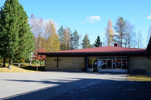 Aapakirkko ja seurakuntasali
